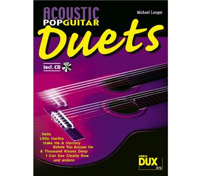 Langer Acoustic Pop Guitar - Duets