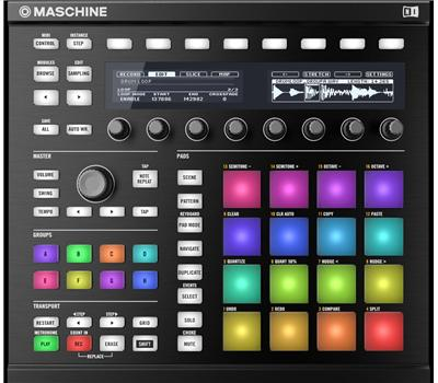 Native Instruments Maschine MK2 Black1