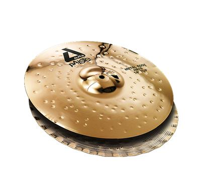 Paiste Alpha Brilliant Metal Edge Hats 14""