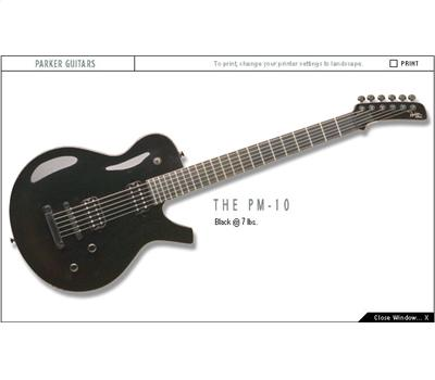 Parker PM10 Series Black