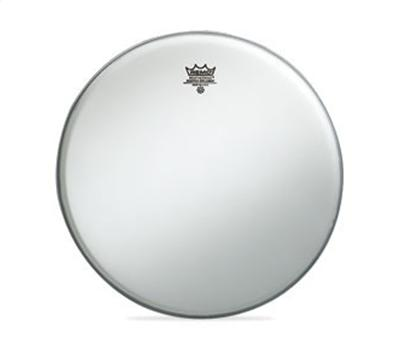 Remo Ambassador Coated weiss 12""
