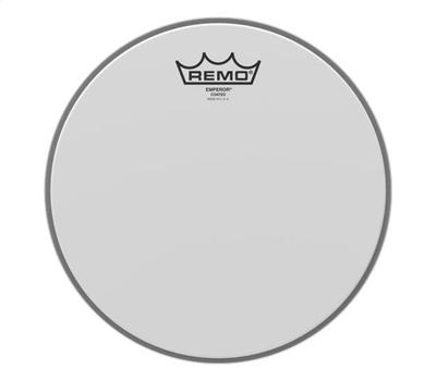 Remo Emperor Coated weiss 10""