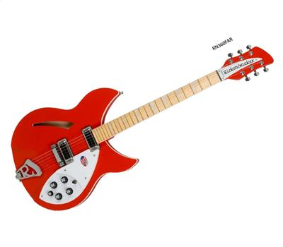 Rickenbacker 360 Limited Fire Alarm Red