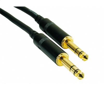 Rock Cable Symmetrisch 6,3mm Jack-Jack 0,6 Meter