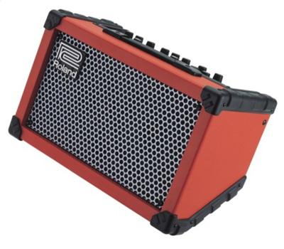 Roland Cube Street Amp red