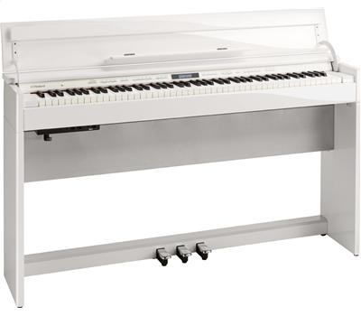 Roland DP-603 Polished White1