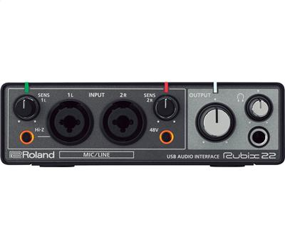 Roland Rubix 22 Audio Interface 2in-2out1