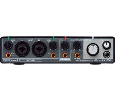 Roland Rubix 24 Audio Interface 2in-4out1