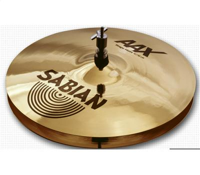 "Sabian AAX Stage Hats 14"" Brilliant Hi-Hat"
