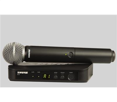 Shure BLX24E SM 58 Handheld Wireless System