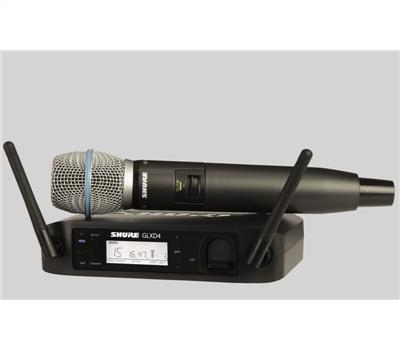 Shure GLXD24E Beta 87 A Handheld Wireless System