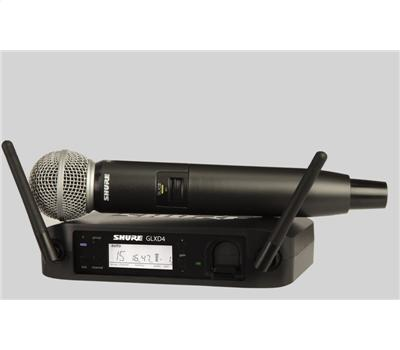 Shure GLXD24E SM 58 Handheld Wireless System