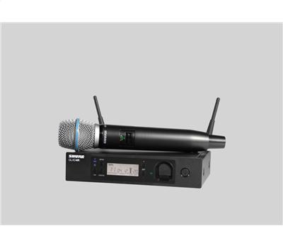 Shure GLXD24RE-B87A Vocal-Funksystem Beta87A