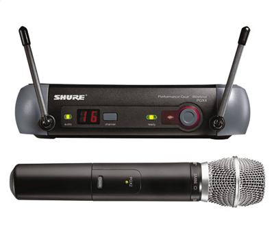 Shure PGX 24 SM-86 Handheld Wireless System