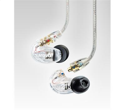 Shure SE 215CL Earphones transparent