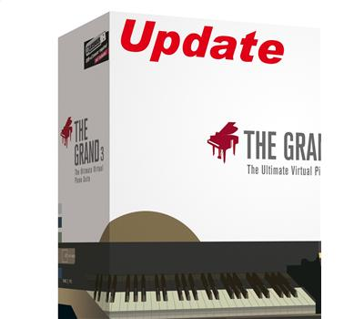 Steinberg The Grand 3 Update von The Grand 2