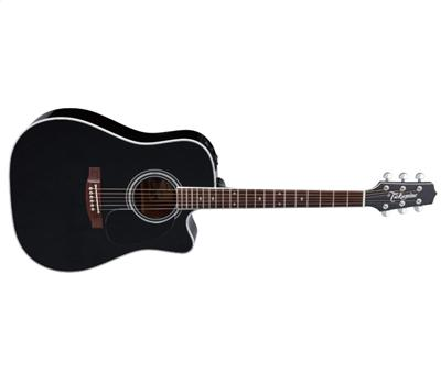 Takamine EF 341 SC Legacy Series Dreadnought Black Gloss