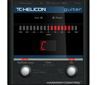 TC Electronic Helicon Harmony Control Guitar
