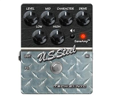 Tech 21 Character Pedal Series US Steel