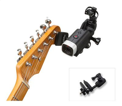 Zoom GHM-1  Guitar Headstock Mount for Q4 / Q8