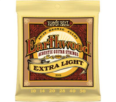 Ernie Ball 2006 Earthwood Bronze Extra Light .010-.050
