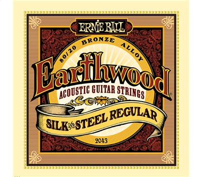 Ernie Ball 2043 Earthwood Silk and Steel Regular Acoustic 013-056