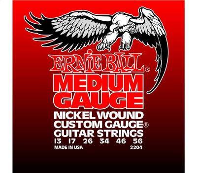 Ernie Ball - 2204 - Nickel Wound - Medium - .013-.056