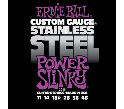 Ernie Ball 2245 Stainless Steel Power Slinky .011-.048