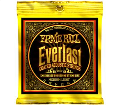 Ernie Ball 2556 Everlast Phosphor Bronze Medium Light .012-.054