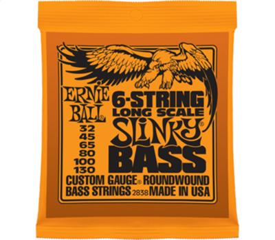 Ernie Ball - 2838 - Nickel Wound - 6-String Slinky -.032-.130