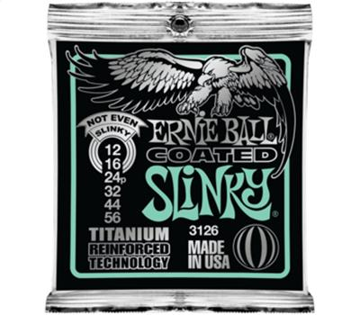 Ernie Ball 3126 Coated Not Even Slinky 012-056