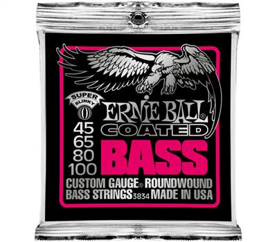Ernie Ball - 3834 - Coated Nickel Wound - Super Slinky - 045-100