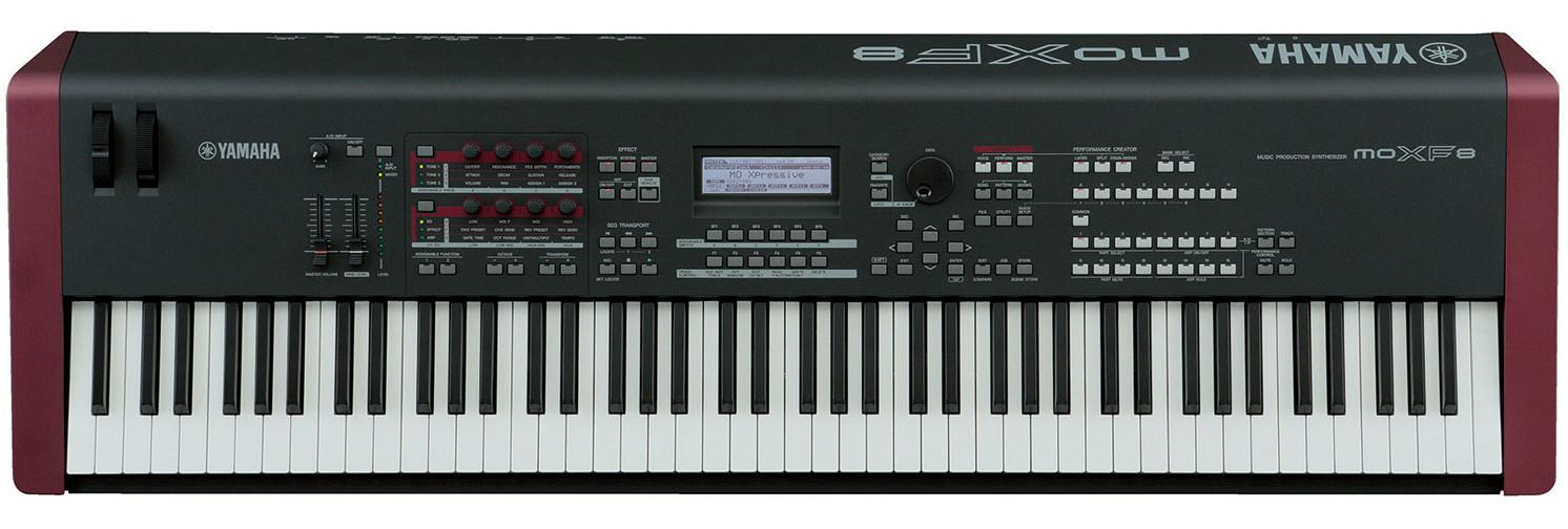 Audio Samples Yamaha Moxf