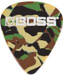 Boss BPK-12-CM Celluloid Pick 12er Pack Camo Medium