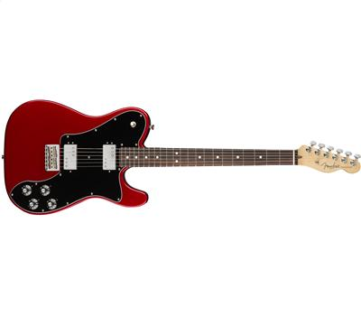 Fender American Professional Telecaster Deluxe ShawBucker Rosewood Fingerboard Candy Apple Red1