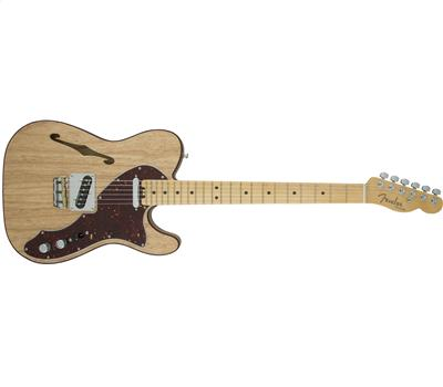 Fender American Elite Telecaster® Thinline Maple Fingerboard Natural