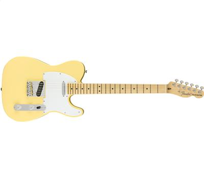 Fender American Performer Telecaster® Maple Fingerboard Vintage White1