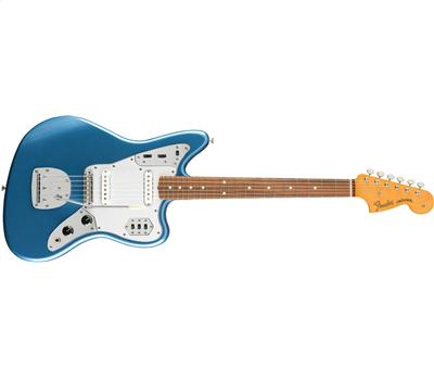 Fender 60s Jaguar® Lacquer, Pau Ferro Fingerboard Lake Placid Blue