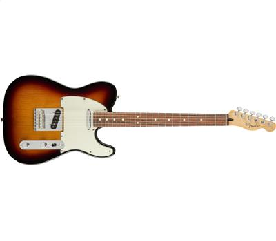 Fender Player Telecaster® Pau Ferro Fingerboard 3-Color Sunburst