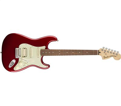 Fender Deluxe Stratocaster® HSS Pau Ferro Fingerboard Candy Apple Red1