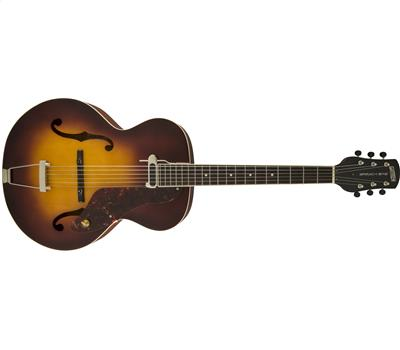 Gretsch G9555 New Yorker Archtop Guitar with Pickup Semi-gloss Vintage Sunburst1