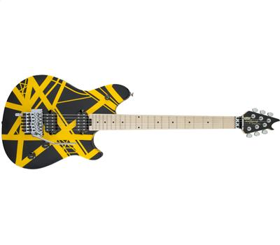 EVH Wolfgang® Special Striped Maple Fingerboard Black and Yellow