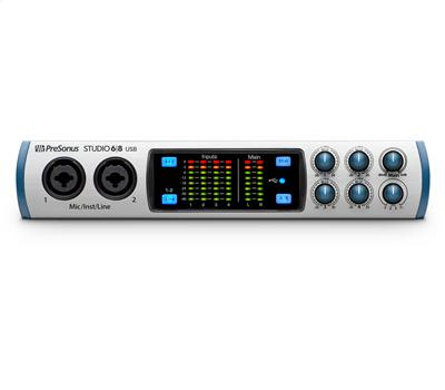 Presonus Studio 68 - USB Audio-Interface1