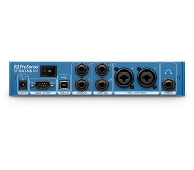 Presonus Studio 68 - USB Audio-Interface2