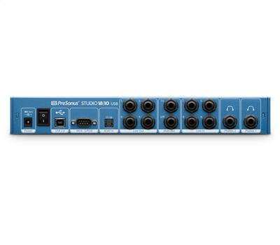 PRESONUS Studio 1810 - USB Audio-Interface, USB2.0, 18In/12