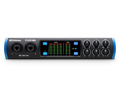 PRESONUS Studio 68c - USB Audio Interface, 6In/8Out, USB-C1