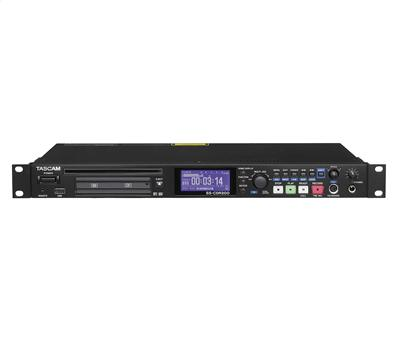 TASCAM SS-CDR200, Solid State & CD-RW Audio Recorder, 1U1
