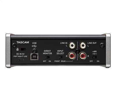 TASCAM US-1x2 - USB Audio Interface, 2 in/out, USB 2.02