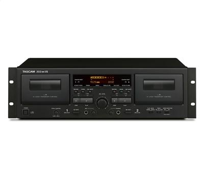 TASCAM 202mkVII - Dual Tape Deck, USB1