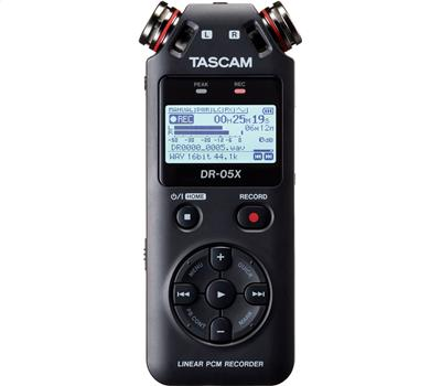 TASCAM DR-05X - Stereo Handheld Recorder, USB Audio Inte